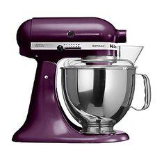 Boysenberry KitchenAid® Artisan Stand Mixer  - from Lakeland