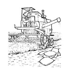 Farm Equipment Coloring Pages Tractor Coloring Pages, Horse Coloring Pages, Coloring Pages To Print, Free Printable Coloring Pages, Colouring Pages, Adult Coloring Pages, Coloring Pages For Kids, Coloring Sheets, Coloring Books
