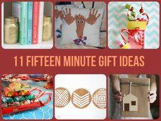 11 Fifteen Minute DIY Gift Ideas