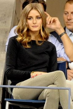 Olivia Palermo--like the color and length of her hair