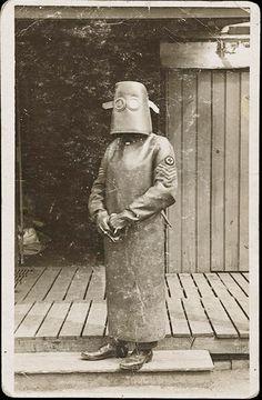 Xray technician 1918
