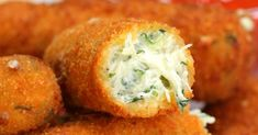 Fried Spinach DIp - it's like 2 appetizers in one!!