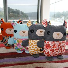 a herd of cuteness