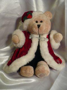 Starbuck's Plush Bearista Bear Christmas Holiday 36th Edition 2004 #starbuckscoffee #bearistabearplush