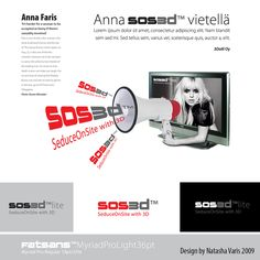 Case: SOS3D – SeduceOnSite for 3Dolli Oy. Moodboard and logodesign by Natasha Varis, 2009. – http://www.sos3d.info/