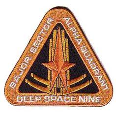 "Star Trek Deep Space Nine Bajor Sector 4"" Patch"