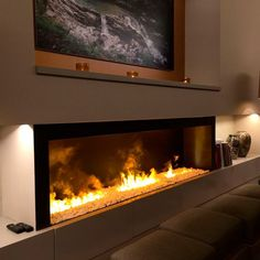 Built-in Electric Fireplace and Its Benefits : Built In Electric Fireplace Inserts. Built-in electric fireplace inserts. Modern Electric Fireplace, Recessed Electric Fireplace, Wall Mount Electric Fireplace, Electric Fireplaces, Modern Fireplaces, Living Room Electric Fireplace, Electric Fireplace Reviews, Fireplace Tv Wall, Ideas