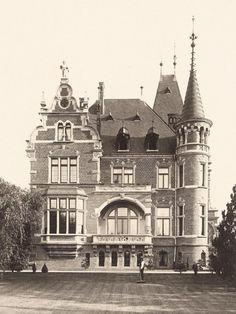 Berlin, Villa Raussendorff 1894, Rückwardt