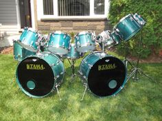 Tama, Superstar, Super Aqua Marine. #Tama