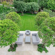 eautiful contemporary family garden in Kew designed by Maitanne Hunt Garden On A Hill, Lawn And Garden, Garden Pots, Garden Ideas, Back Gardens, Outdoor Gardens, Amazing Gardens, Beautiful Gardens, Outdoor Paving