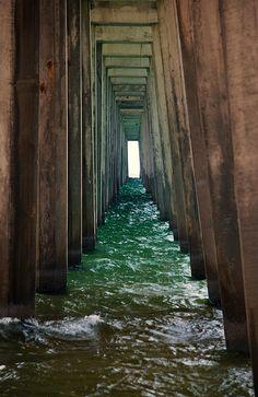 Panama City fishing pier