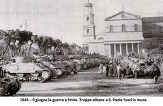 San Paolo fuori le mura 9-6-1944 truppe alleate