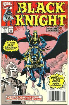 BLACK KNIGHT 4-part Copper Age SERIES from Marvel! ~COOL~ http://r.ebay.com/MOHZxh