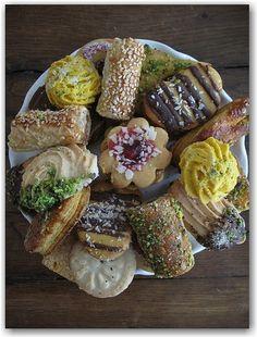 Hamantaschen, Macarons & Persian Sweets