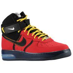 Nike Air Force 1 High Supreme Bakin' - Men's - University Red/Black