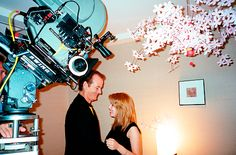 As featured in Empire Magazine's May 2014 issue: Sofia Coppola's (previously) personal BTS photos from the set of 'Lost in Translation.' [via]