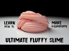 How to Make Fluffy Slime: Use almost 4 times the corn starch and not dye (colors hands for a few days)