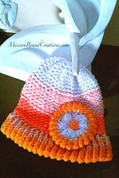 Loom Knit Flowers FREE Pattern for Round Loom