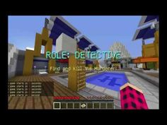 Летсплей Minecraft Murder Mystery