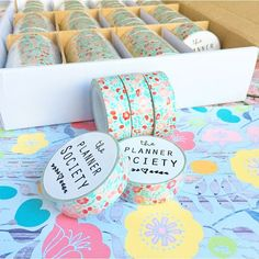 More Planner Society goodness arrived yesterday in the @scarletlimeshop warehouse! The exclusive washi tape I designed  that coordinates with August's paper is finally here and oh my gosh I'm in love!  I'm still playing fiercely with my July kit so I am going to be a good girl and keep all of these babies in the warehouse until I start doing sneak peeks of August later next week . I am so excited for what's in store though! Each month is like a new bundle of happiness for my planner! I'm…