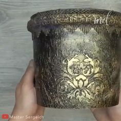 No need to spend in flower pot anymore. By: Master Sergeich No need to spend in flower pot anymore. By: Master Sergeich Diy Crafts Hacks, Diy Home Crafts, Diy Arts And Crafts, Hobbies And Crafts, Creative Crafts, Handmade Crafts, Diy Bottle, Bottle Art, Bottle Crafts