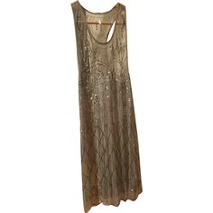 Mini dress Free People Silver size 34 FR in Synthetic - 4661593 Free People Dress, Sequin Dress, Luxury Consignment, Designer Dresses, Dress Outfits, Basic Tank Top, Sequins, Clothes For Women, Tank Tops
