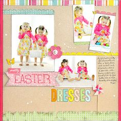 Pretty Easter Dresses, by Jill Cornell, from Pebbles blog.