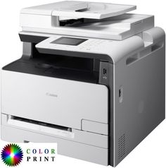 Buy Canon i-SENSYS Wireless All-In-One Colour Laser Printer With Colour Touch Screen from our Printers range at John Lewis & Partners. Mac Os, Linux, Canon Print, How To Uninstall, Multifunction Printer, Printer Driver, Laser Printer, Small Office, Multifunctional