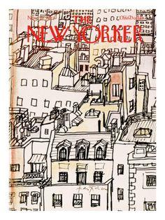 The New Yorker Cover - November 21, André François