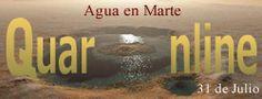 EL 31 de Julio de 2008 en Estados Unidos, la NASA anuncia el descubrimiento de agua en el planeta Marte. http://www.quaronline.com/