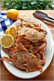 Crunchy Soft-Shell Crabs - Recipe - NYTimes.com