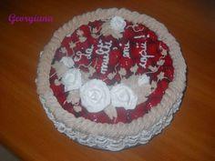 Tort cu ciocolată și căpșuni. Just Cooking, Desserts, Food, Tailgate Desserts, Deserts, Essen, Postres, Meals, Dessert