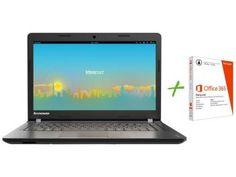 "Notebook Lenovo Ideapad 100 Intel Dual Core 2GB - 500GB LED 14"" Linux"