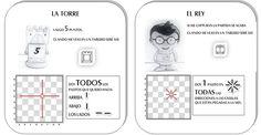 fichas para aprender ajedrez - Buscar con Google