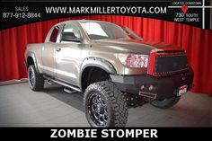 Zombie Stomper Package!! | Custom 2013 Toyota Tundra V8