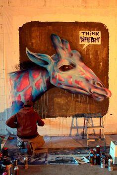 Think Different#Street Art