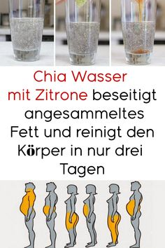 Chia-Wasser mit Zitrone beseitigt angesammeltes Fett und reinigt den Körper in … Chia water with lemon removes accumulated fat and cleanses the body in fatty tissue Health And Wellness, Health Fitness, Emotional Photos, Foot Detox, Dental Crowns, Dieta Detox, Health Challenge, Lemon Water, Health Articles
