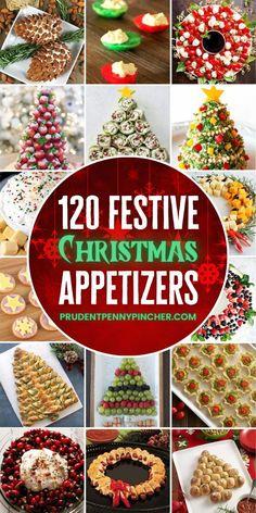 Make Ahead Christmas Appetizers, Christmas Party Food, Xmas Food, Holiday Appetizers, Christmas Cooking, Christmas Goodies, Christmas Treats, Appetizer Ideas, Christmas