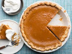 Get this all-star, easy-to-follow Pumpkin Pie recipe from Food Network Kitchen. #Thanksgiving #Christmas