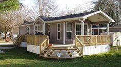 Attractive Single Porch Design Part 7 - Single Wide Mobile Home Porches