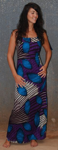 African print dress ~African Prints, African women dresses, African fashion styles, african clothing