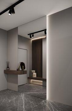 Bedroom Closet Design, Home Room Design, House Design, Home Entrance Decor, House Entrance, Two Storey House, Foyer Design, House Rooms, Interior Architecture