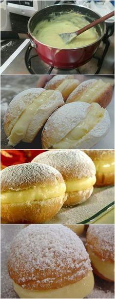 SONHO COM CREME DE CONFEITEIRO,SUPER MACIO ESSE CREME É DELICIOSO! ❤️ VEJA AQUI>>>Misture ao fermento uma colher de açúcar e mexa bem até dissolver Junte os ovos, a margarina, o açúcar e o leite #receita#bolo#torta#doce#sobremesa#aniversario#pudim#mousse#pave#Cheesecake#chocolate#confeitaria