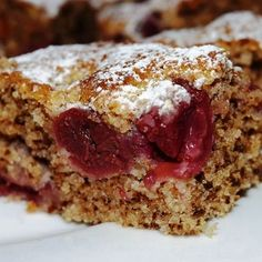 Cranberry Bars, Fast Food Chains, Winter Food, Banana Bread, Cravings, Deserts, Food And Drink, Low Carb, Nutrition