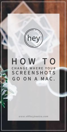 Change where screenshots save from Hey Jessica!