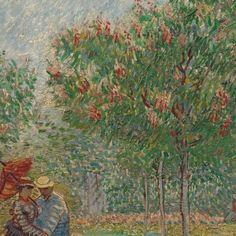 Garden with Courting Couples: Square Saint-Pierre, 1887, Vincent van Gogh, Van Gogh Museum, Amsterdam (Vincent van Gogh Foundation)
