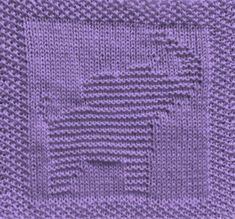 Free knitting pattern for elephant washcloth dishcloth afghan square. Lots of other patterns available too - afghan square, washcloth, animals, alphabet Knitted Washcloth Patterns, Knitted Washcloths, Dishcloth Knitting Patterns, Knit Dishcloth, Knitting Stitches, Free Knitting, Crochet Patterns, Knitting Ideas, Knitting Projects