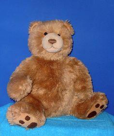 """GUND Tan Teddy Bear Kohl's 4 Kids 16"""" Stuffed Animal Plushie"""