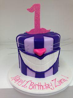 Cheshire cat first birthday