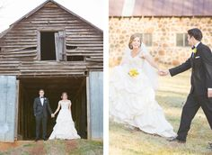 A Southern Style Shoot with Vintage Charm
